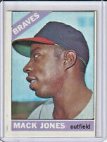 Mack Jones 1966 Topps Baseball Card #446 (D)