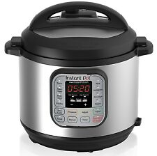 Instant Pot 7-in-1 Programmable Pressure Cooker 6Qt/1000W Stainless! New item!