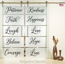 10 Words Live Love Laugh Wall Sticker Vinyl Quote Decal Home Stairs Decor Art