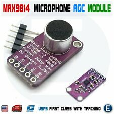 MAX9814 Electret Microphone Amplifier Module Auto Gain Control AGC for Arduino