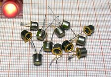 DIODE LED RED colour - old - metal base [M1-301]