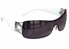 Sonnenbrille Damenbrille Weiße Brille Monoglas Sportlicher Style Damen M 34