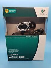 Logitech C260 Web Cam -16:9 Video & 3MP Photos, (damaged Box)