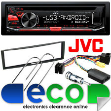 Renault Modus 2004 - 2012 JVC CD MP3 USB AUX Car Stereo & Steering Wheel Kit