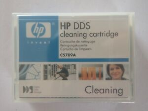 HP DDS DAT Cleaning Tape/Cartridge C5709A 4mm NEW