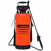 VIVOSUN 0.8/1.3/2 Gallon Lawn Garden Pump Pressure Sprayer Chemical Weed Killer
