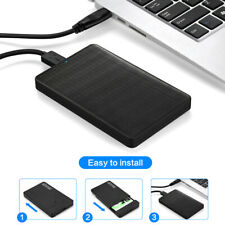 2.5'' External Hard Drive USB 3.0 Portable Type-C SATA HDD Box Hard Disk Case