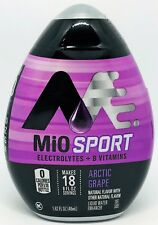 Mio Sport Artic Grape Electrolytes Liquid Water Enhancer 1.62 oz