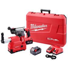 """Milwaukee 2715-22DE M18 FUEL 18V 1-1/8"""" SDS Plus Rotary Hammer w/ Batteries"""
