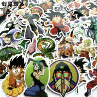 36/50 Pcs Anime Dragon Ball Z Super Saiyan Stickers Decal  Decorative Stickers