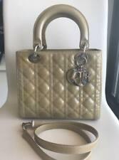 authentic Christian Dior year2010 medium Lady Dior 90%new, $200 off minus strap