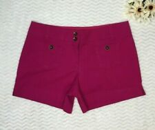 New York And Company Size 6 Womens Shorts Pink Fuschia