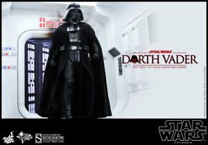 Sideshow Hot Toys MMS279 DARTH VADER ANH 1/6 Scale Figure Displayed But NICE!!