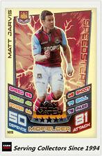 2012-13 Match Attax Extra Man Of Match Foil Card M19 Matt Jarvis (West Ham Utd)