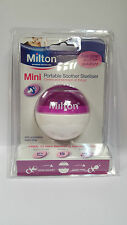 Milton Mini Portatile Soother 9W CON 10 STERILIZZANTE Tablet