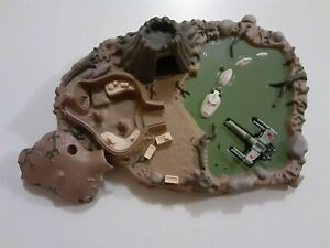 Star Wars Micro Machines Loose Galoob Playset Toy DAGOBAH - No Figures w/ X-Wing