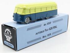 OFFICINA-942 ART1007C SCALA 1/76 FIAT 626 RNL AUTOBUS 1939 CREAM BLUE