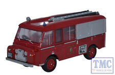 76LRC001 Oxford OO Gauge Land Rover FT6 Carmichael Cheshire County Fire Brigade