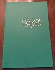 ' GRANADA DIBUJADA   (  GRANADA DRAWN ) by : EUGEN ARC : (ART): SPAIN : 1980