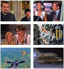 Moonraker James Bond 007 cartolina Set