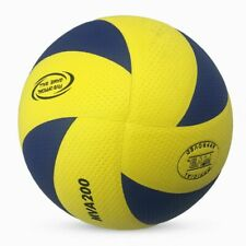 Mikasa MVA200 Volleyball Indoor Olympic Game Official Ball Size 5 Blue/Yellow