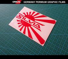 JDM LOGO SILVIA S15 S14 S13 CAR Decal vinyl Sticker