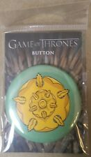 GAME OF THRONES PINBACK BUTTON : TYRELL  2018