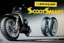 Coppia pneumatici Scooter 110/70/16 + 130/70/16 Dunlop Scootsmart Gomma SH 300