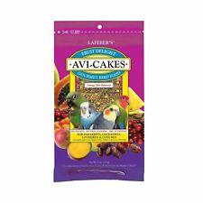 FRESH Lafeber Avi-Cakes Fruit Delight for Parakeet Lovebird Food Small Bird 8 oz