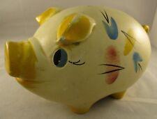RETRO VINTAGE CERAMIC  MONEY BOX PIGGY BANK - Made in England