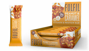 Fulfil Vitamin & Protein bars - Ideal Healthy Snack for Sport & Wellness