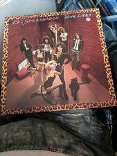 New listing RARE REO SPEEDWAGON LP NINE LIVES EPIC GATEFOLD NR MINT VINYL FE35988 USA