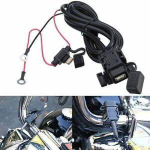Adattatore cavo presa connettore usb batteria manubrio per moto impermeabile