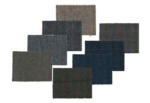 Harris Tweed Fabric Cloth Genuine 100% Pure Virgin Wool Tartan Herringbone check