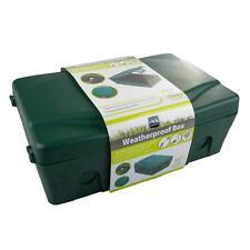 Resistente a la intemperie recinto caja impermeable IP54 al aire libre cubierta de zócalo de energía eléctrica