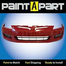 2003 2004 2005 Honda Accord Coupe Front Bumper Painted R94 San Marino Red