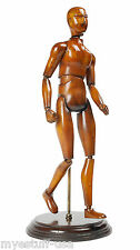 Artist Mannequin Articulated Wood Model by Authentic Models MG008F