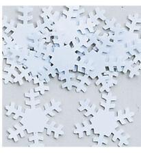 Blanc Flocons de Neige Table Noël Vermicelles Confetti Fête Décoration