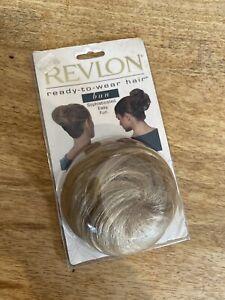 REVLON Ready To Wear Hair BUN - Blonde - Unused New