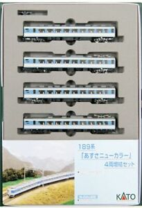 Kato 10-427 Series 189 Azusa New Color 4 Cars Add-on Set (N scale)
