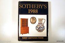 alter Auktionskatalog Sotheby´s 1988 Kunst Auktionen Preise