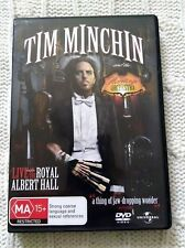 Tim Minchin And The Heritage Orchestra (DVD) R-2+4, LIKE NEW, FREE POST AUS-WIDE