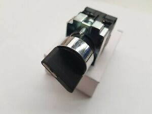 2 POSITION ON/OFF  SELECTOR SWITCH , LATCHING TYPE