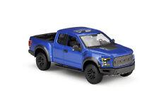 MAISTO SE TRUCKS 1:24 SCALE 2017 Blue FORD F-150 RAPTOR DIECAST MODEL CAR IN BOX