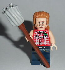 MOVIE Lego Comedy Joe Dirt w/mop NEW Genuine Lego Parts Spade Mullet