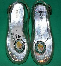 DISNEY PARKS PRINCESS CINDERELLA SLIPPERS COSTUME SHOES GIRL SIZE 13/1 NEW