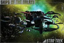 STAR TREK - SHIPS OF THE GALAXY POSTER - 24x36 SPOCK KIRK ENTERPRISE 241321