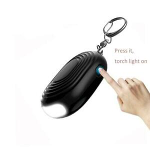 Emergency Security Personal Alarm with Keychain and Bright Light