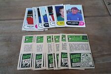 A&BC Green Back Football Cards 1969 - 3rd Series VGC!  Pick The Cards You Need