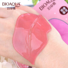 5 Lip Pink Crystal Collagen Lip Mask Patch Anti Ageing Wrinkle Moisturising Care
